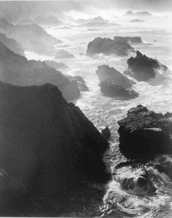 Alan  Ross - Rocks and Mist, Otter Cove, Big Sur, California