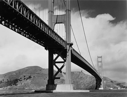 Alan  Ross - Golden Gate Bridge from Fort Point