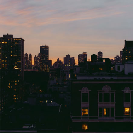 Debra Bloomfield - Rooftop, New York