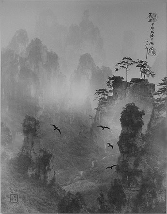 Don Hong-Oai - Morning Valley, Hunan, China