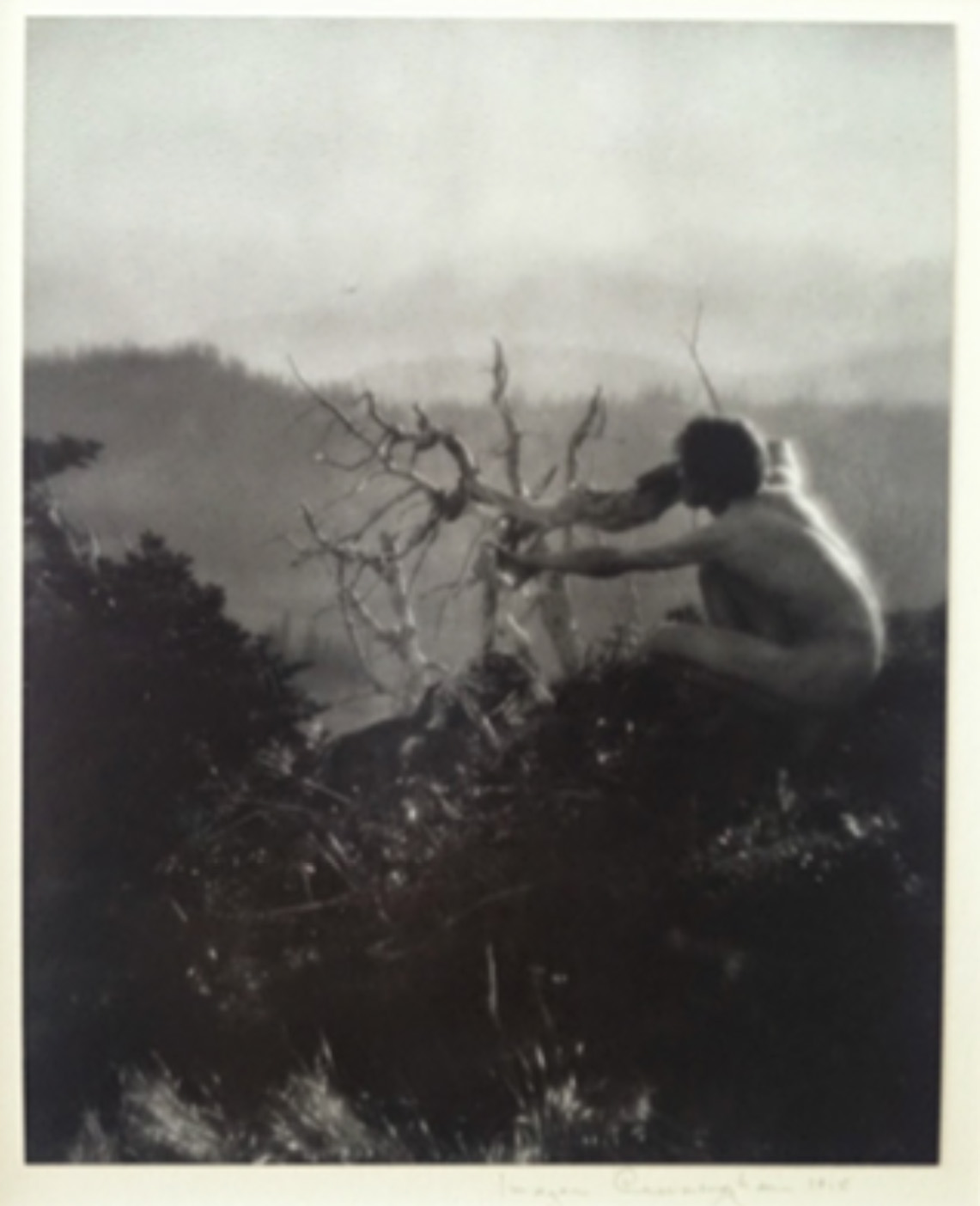 Imogen Cunningham - On Mt. Rainier #4