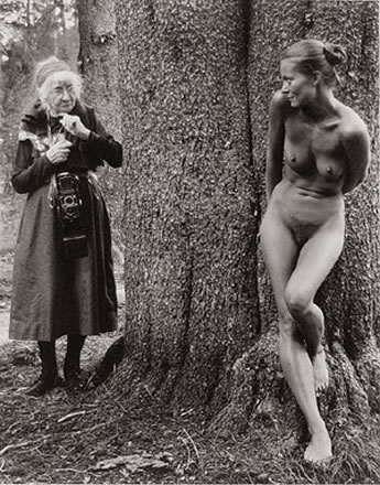 Judy Dater - Imogen and Twinka at Yosemite