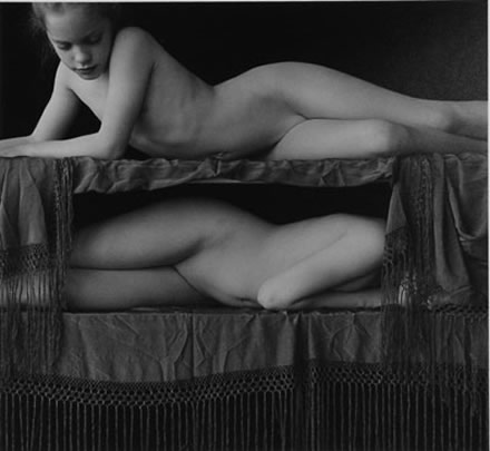 Marsha Burns - Untitled (Girls on Bunk Bed)