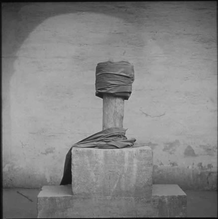 Richard Barnes - Tomb Detail with Clothing, City of the Dead, Egypt
