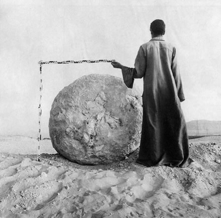 Richard Barnes - Measurement, Large Stone, Abydon, Egypt