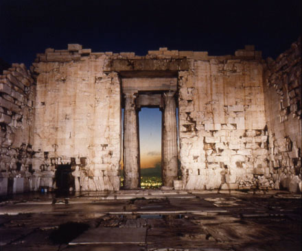 Richard Misrach - Parthenon Interior (Portal)